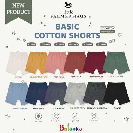 Little Palmerhaus Basic Cotton Shorts