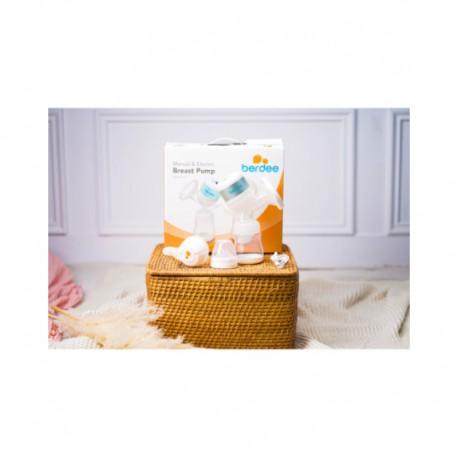 Pompa Asi/Breast Pump 2in1 Manual & Elektrik Berdee Aves