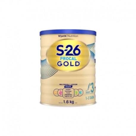S-26 PROCAL GOLD Kaleng - Stage 3 - Susu Formula Pertumbuhan Bayi 1 - 3 Tahun