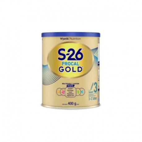 S-26 Procal GOLD Tahap 3 Vanila Susu Pertumbuhan Anak Usia 1-3 Tahun, Kaleng 400gr