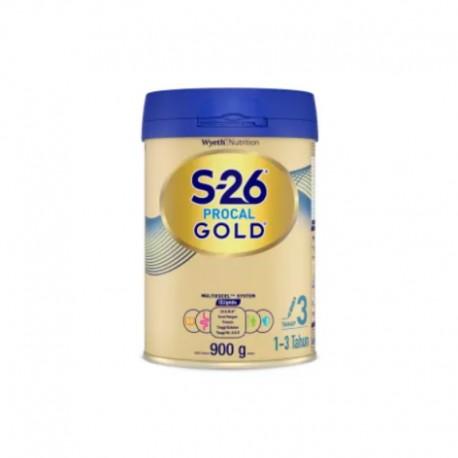 S-26 Procal GOLD Tahap 3 Vanila Susu Pertumbuhan Anak Usia 1-3 Tahun, Kaleng 900gr
