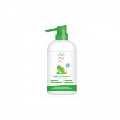 Momami Wash Wash Away Dish & Bottle Cleanser 500ml - Pembersih Piring & Botol Bayi