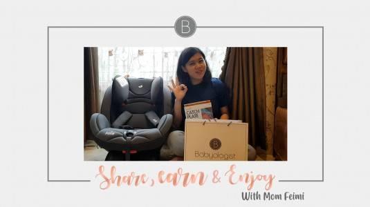 Share, Earn, & Enjoy with Mom Feimi
