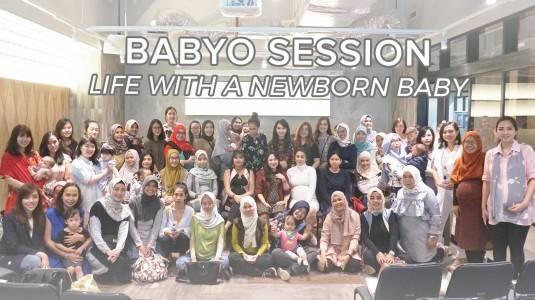 "Babyo Session ""Life with a Newborn Baby"" with Ricka Puspita Atmadja"