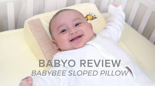 Babyo Review: Babybee Sloped Pillow