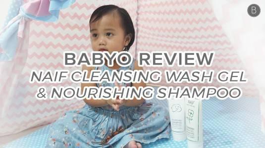 Babyo Review: Naif Baby Cleansing Wash Gel & Baby Nourishing Shampoo