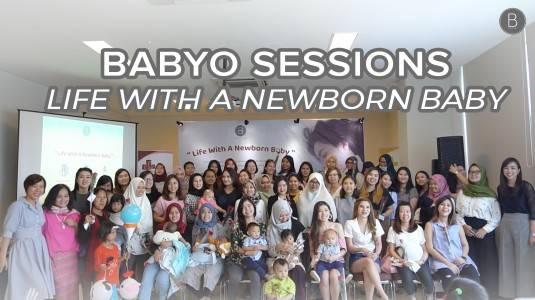 "Babyo Session ""Life with a Newborn Baby"" with Marlisa Tenggara"