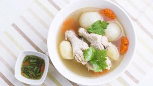 Sop Ayam Kampung si Pelancar ASI yang Membuat ASI Berkualitas