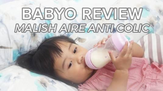 Babyo Review: Malish Aire Anti Colic Feeding Bottle