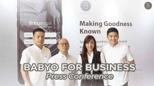 Press Launching Babyo for Business