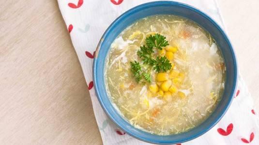 Sup Jagung di Kala Flu