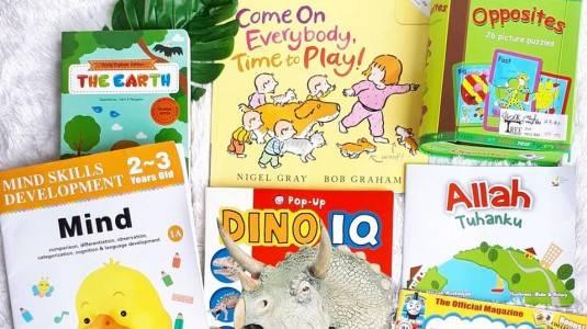 Rekomendasi Buku untuk Anak 2 Tahun+