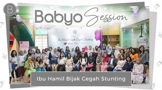 "Babyo Session ""Ibu Hamil Bijak Cegah Stunting"" with Amanda Soraya"