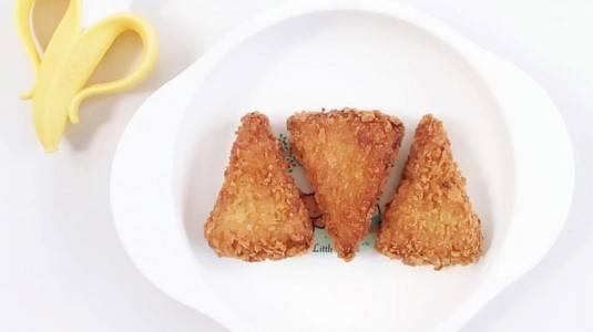 Snack Nugget Pisang untuk si Kecil