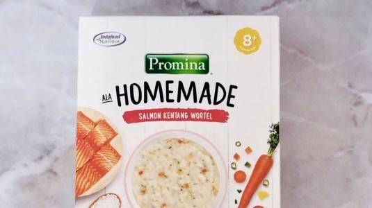 Review Bubur Instan Homemade Promina