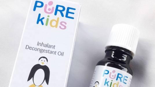 Review Pure Kids Inhalant Decongestant Oil