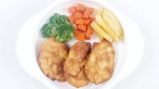 MPASI Crispy Chicken Steak (12m+)