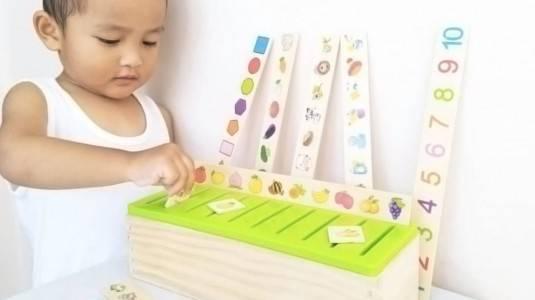 Review Mainan Edukasi Anak - Knowledge Classification Box