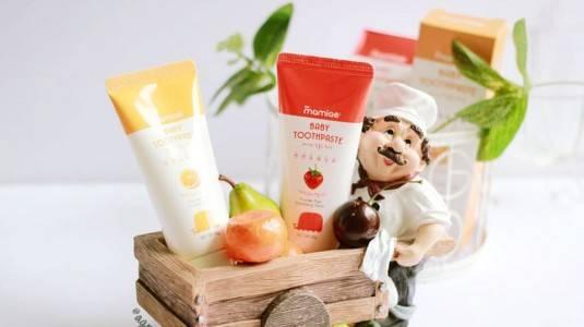 Mamiae Baby Toothpaste, Pasta Gigi Berbahan Organik & Natural untuk Si Kecil