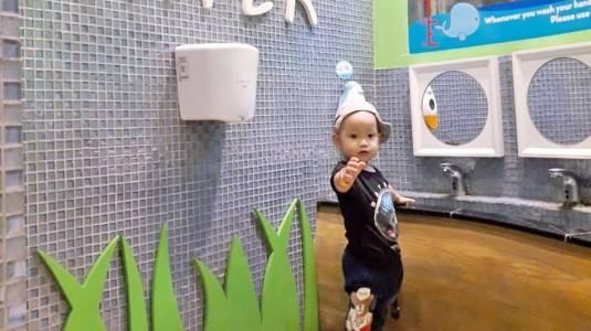 Kids Toilet di Pusat Perbelanjaan