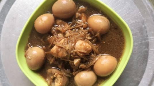 Tofu Telur Kuah Kecap
