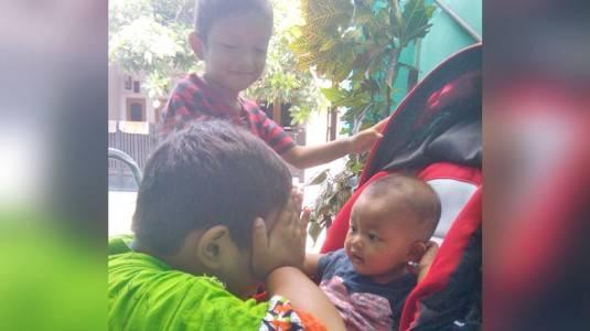 Jangan Ragu Membentengi Bayi Kita dari Anak-Anak yang Sedang Sakit