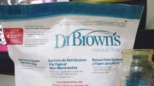 Review: Dr. Brown's Sterilizer Bag