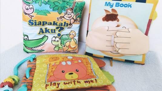 Soft book Jadi Buku Pertama si Kecil