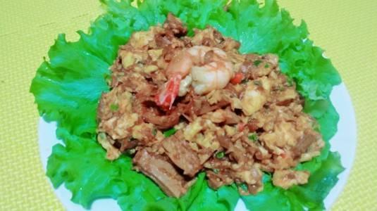 Ikan Tuna Orak Arik Telur