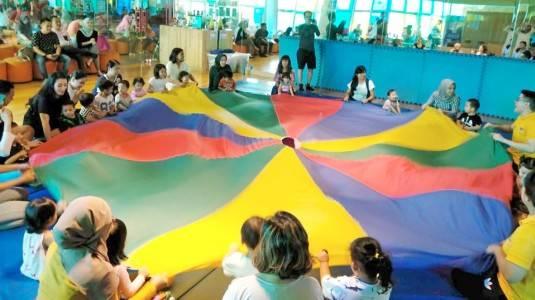 Manfaat Memasukan Anak ke Kelas Baby Gym