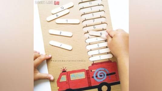 Ide Bermain Anak - Numbers Game