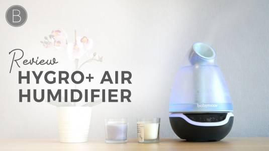 Babyo Review Hygro+ Babymoov Air Humidifier