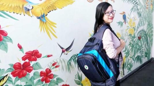 BabyGo Inc Plum Backpack: Pilihanku Saat Traveling Bersama si Kecil