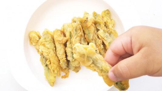 Resep MPASI Buncis Crispy (12 m+)