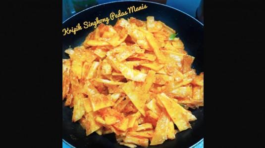 Resep Kripik Singkong Pedas Manis
