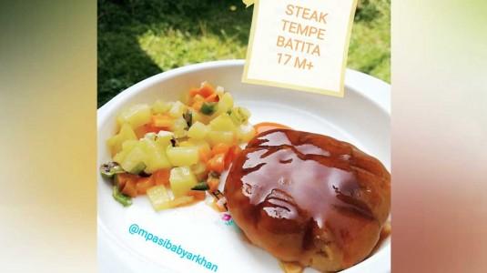 Steak Tempe Batita (17M+)