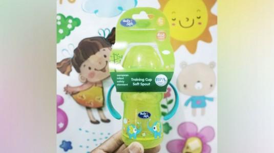 Training Cup Soft Spout Baby Safe Membuat si Kecil Ceria