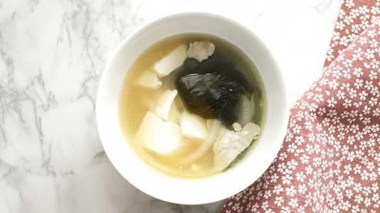 Resep MPASI 1Y+ Sup Tahu Daging