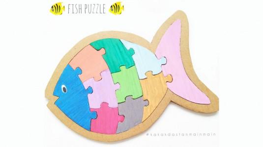 Ide Bermain Anak - Fish Puzzle