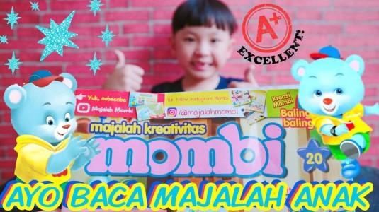 Review Majalah Mombi untuk Anak Preschool