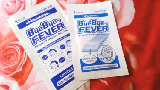 Gel Bye-Bye Fever, Penolong Saat Anak Demam