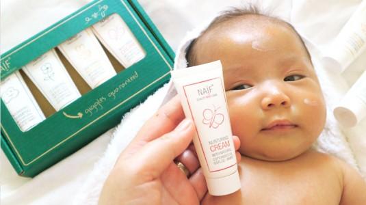 Review Naif Baby untuk Perawatan Kulit Audrey