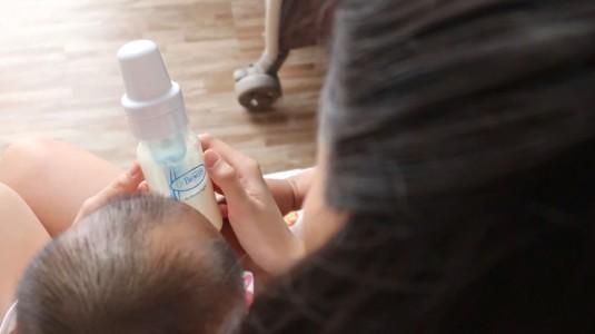 Botol Susu Pilihanku untuk Tava
