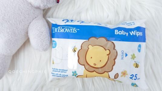 Dr. Brown's Baby Wipes: Tisu Basah Praktis yang Multifungsi