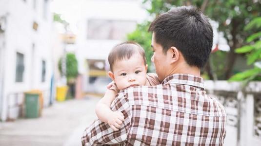 Baby Blues pada Ayah, Bisakah?