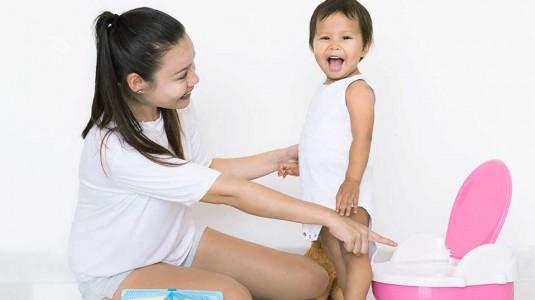Pengalamanku Mengajak Deana Toilet Training
