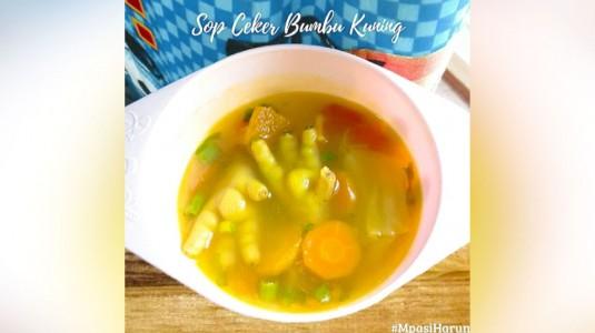 Sop Ceker Bumbu Kuning (12M+)