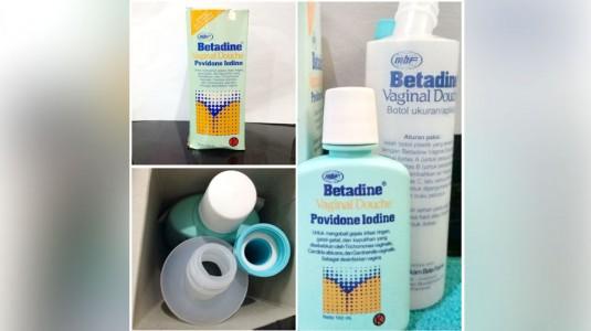 Review Betadine Vaginal Douche Povidone Iodine