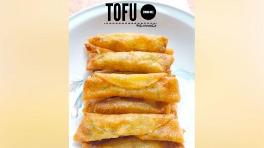 Resep Tofu Spring Roll