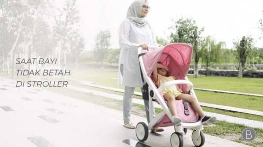 Saat Bayi Tidak Betah Di Stroller